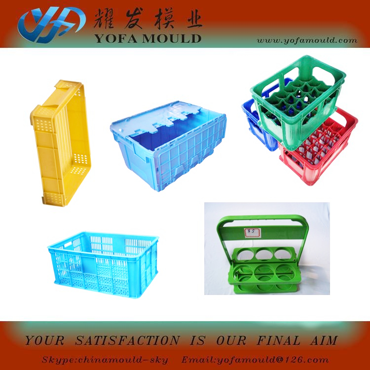 Plastic Vegetable Fruit Crate Turnover