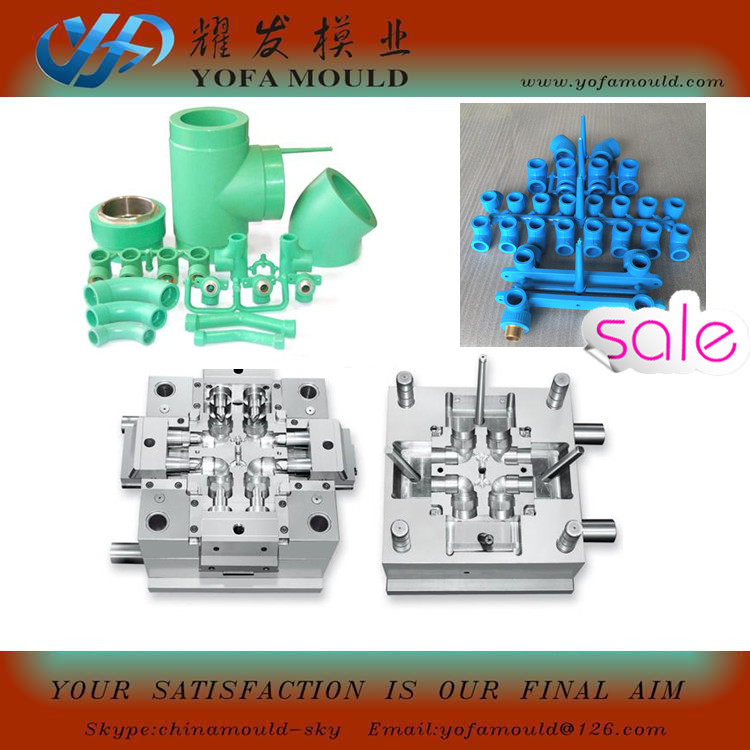 Elbow pipe Fitting Injection Mold