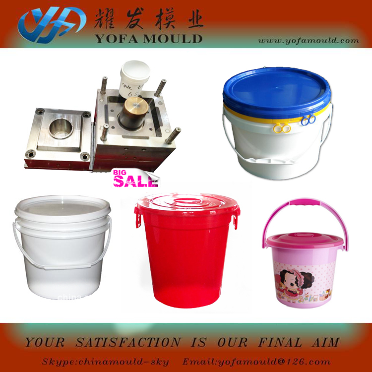 plastic used 1 liter bucket mould in ta
